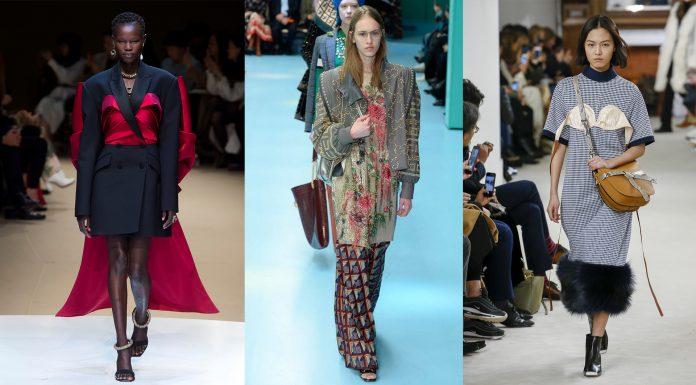 modelos desfilam moda híbrida
