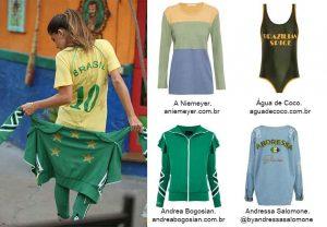 roupas para torcer para o Brasil na Copa