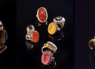 Edis Lima fala sobre anéis para homem do galerista Yves Gastou