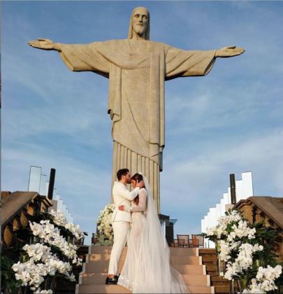 O casamento do DJ Alok
