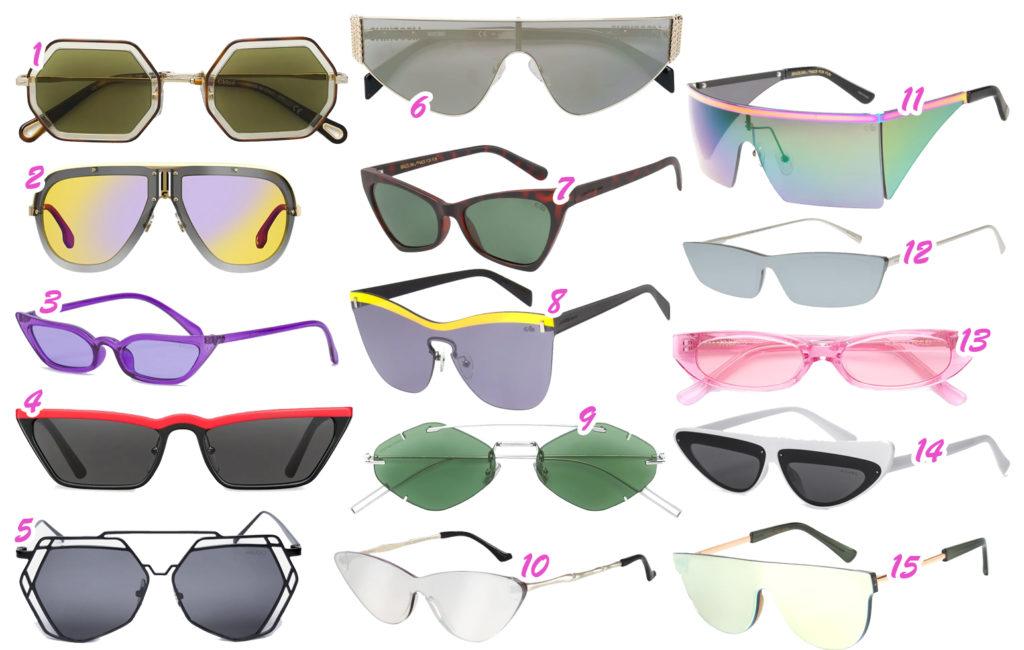 Os óculos diferentões das famosas