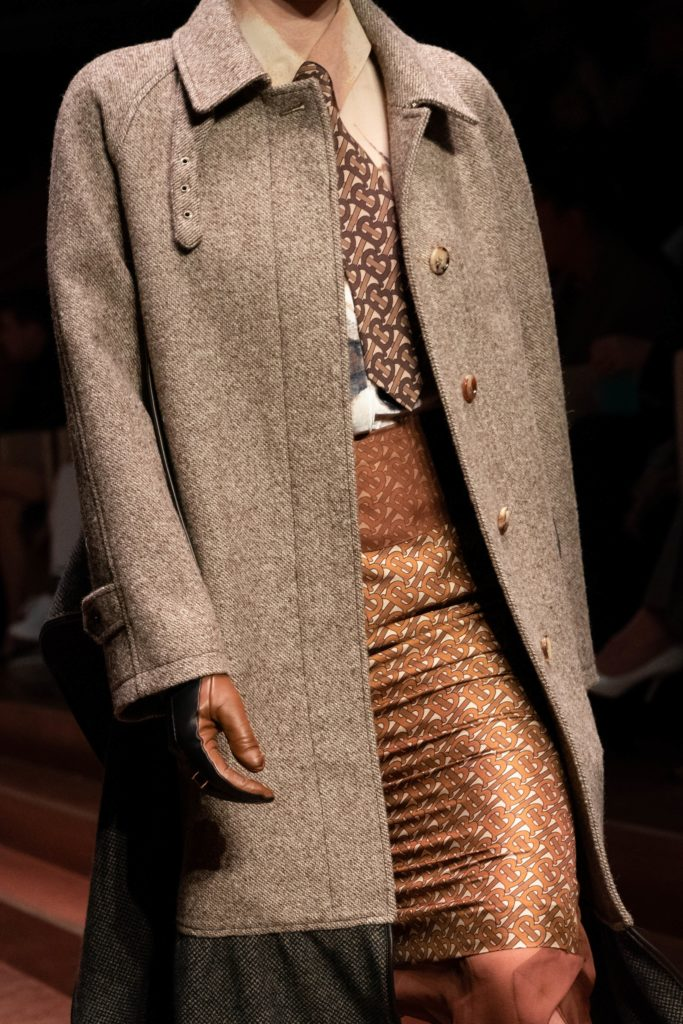Desfile da Burberry na London Fashion Week