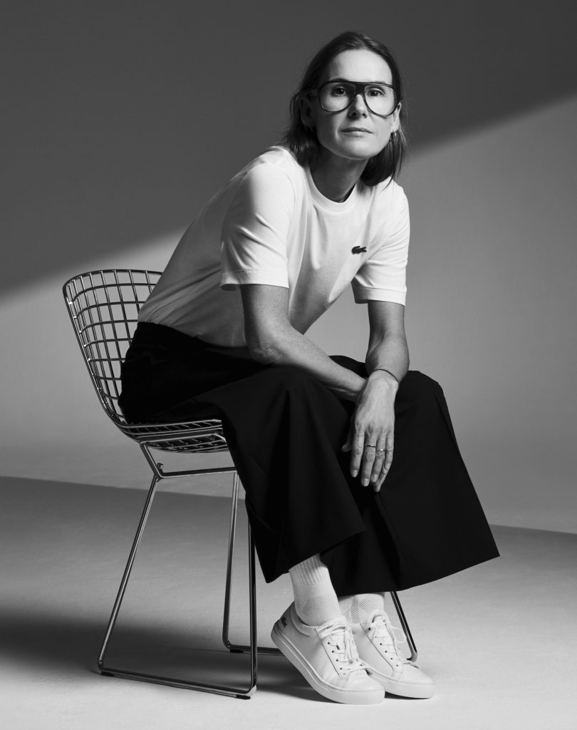 Louise Trotter, Diretora Creativa da Lacoste