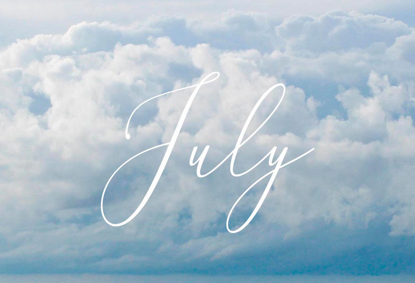 Numerologia julho