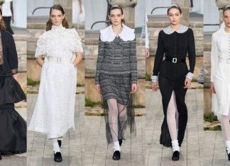 Desfile de Alta-Costura da Chanel