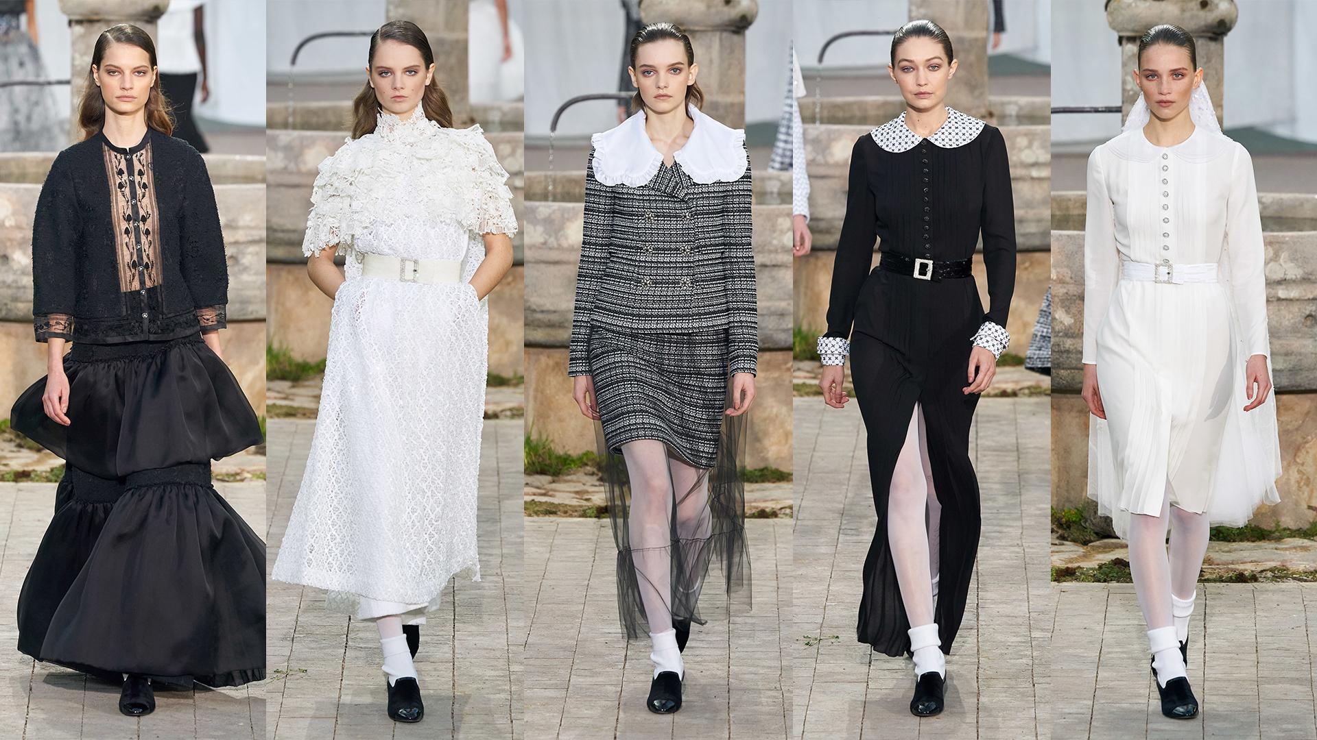 Desfile de Alta-Costura da Chanel: a história por trás do preto e branco -  Z Magazine