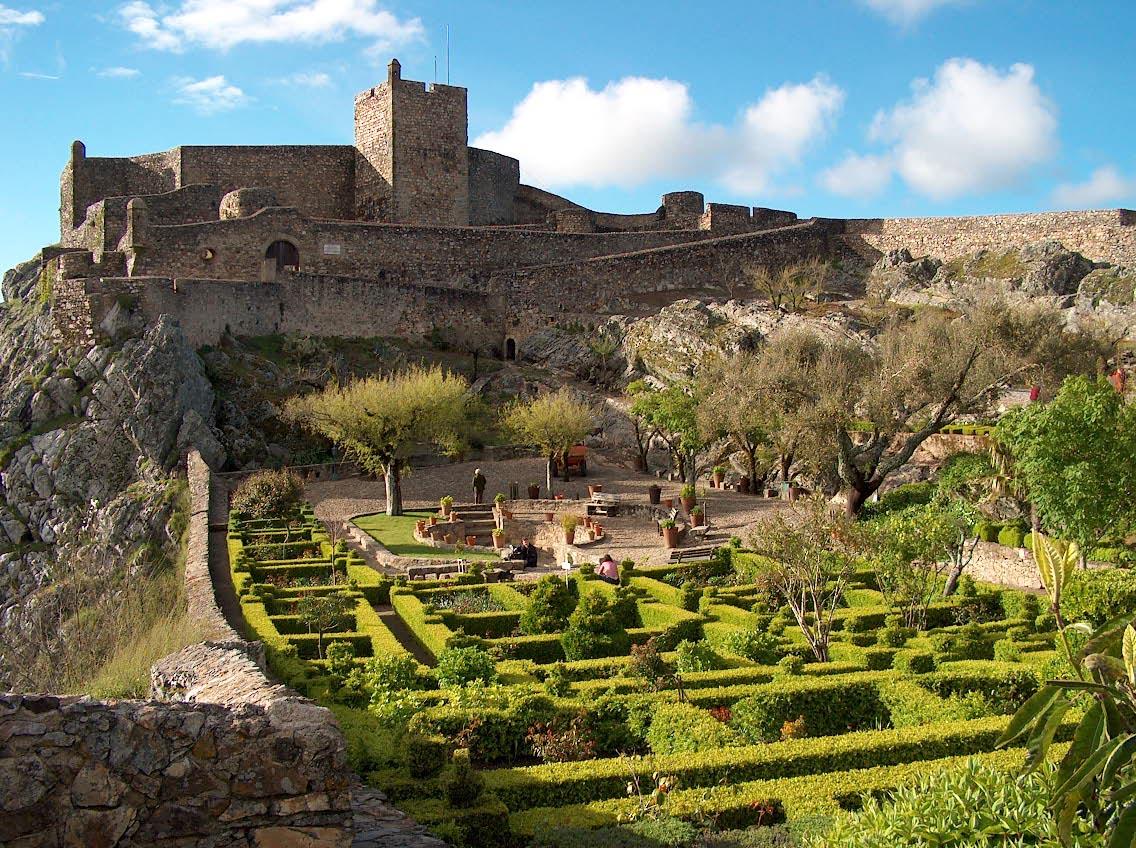 Vilarejos e castelos de Alentejo