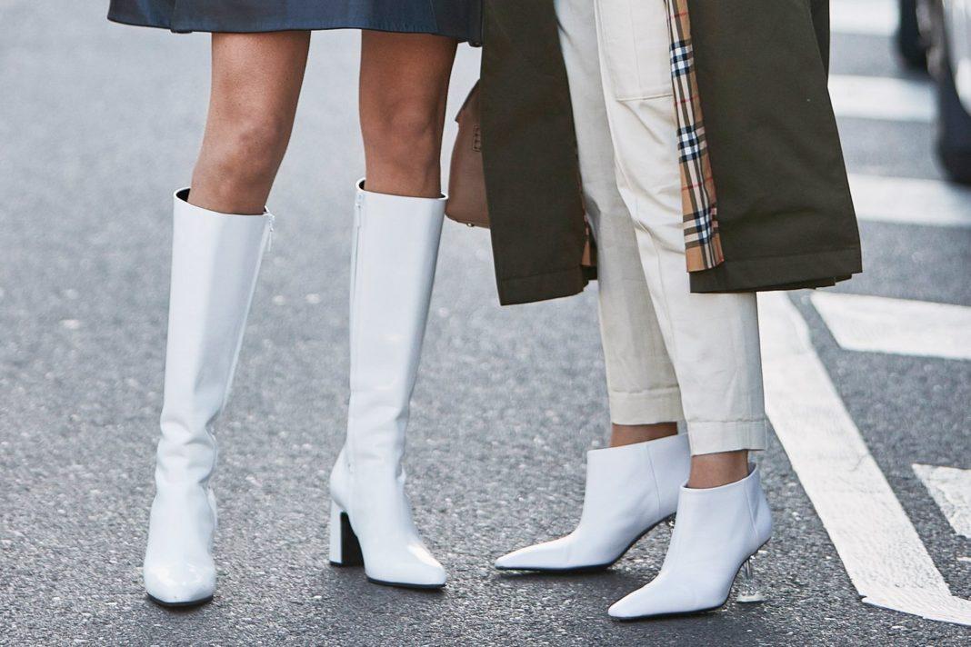 30 formas possíveis de usar botas brancas