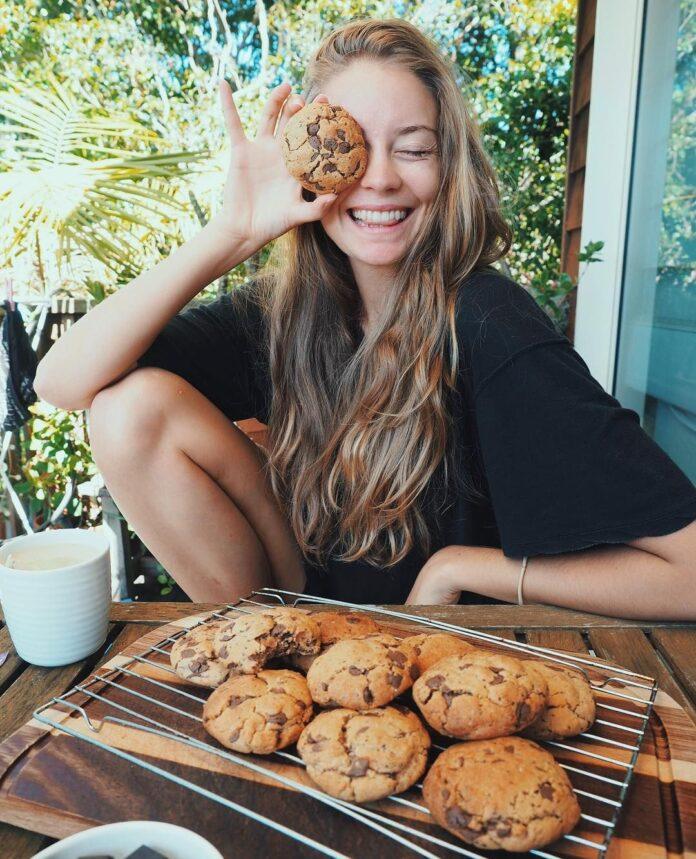 Cookie de banana sem açúcar e sem lactose