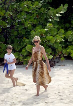 diana princess of wales with prince william on a beach news photo 52112816 1554317934