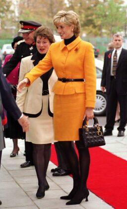 princess diana visiting liverpool diana is wearing a bright news photo 52099916 1554318385