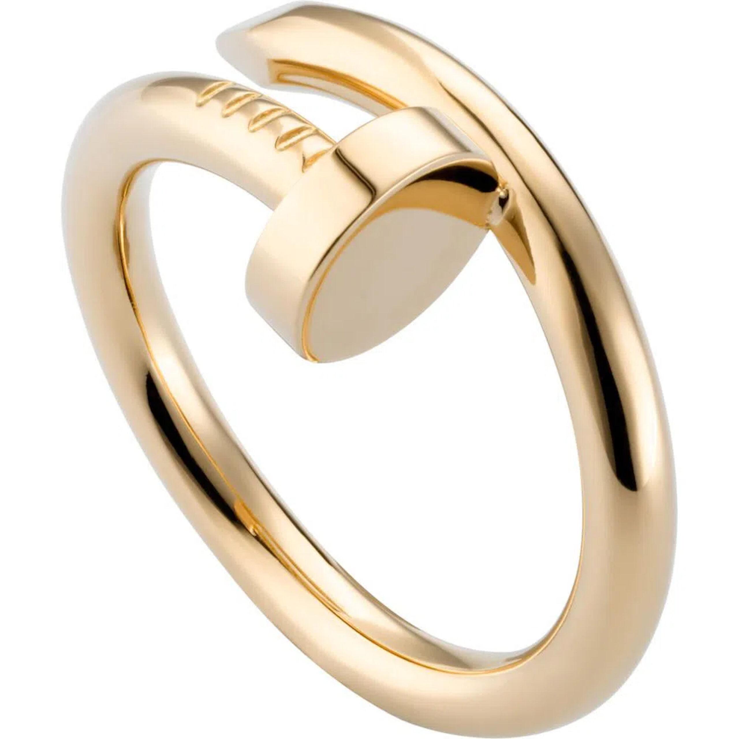 Cartier Anel Juste Un Clou Ouro Amarelo R´¢ 14.800