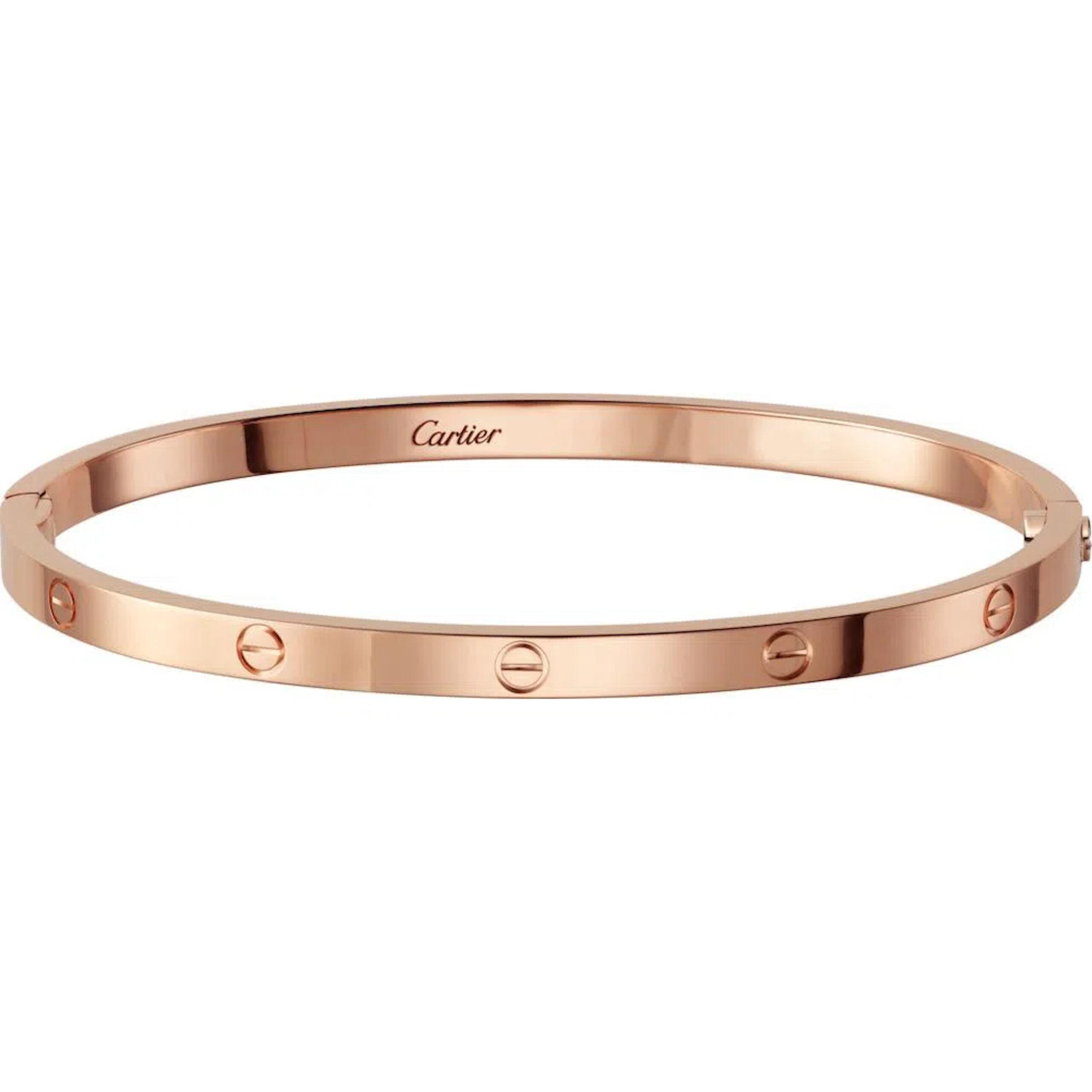 Cartier Pulseira Love Ouro Rosa R´¢ 26.300