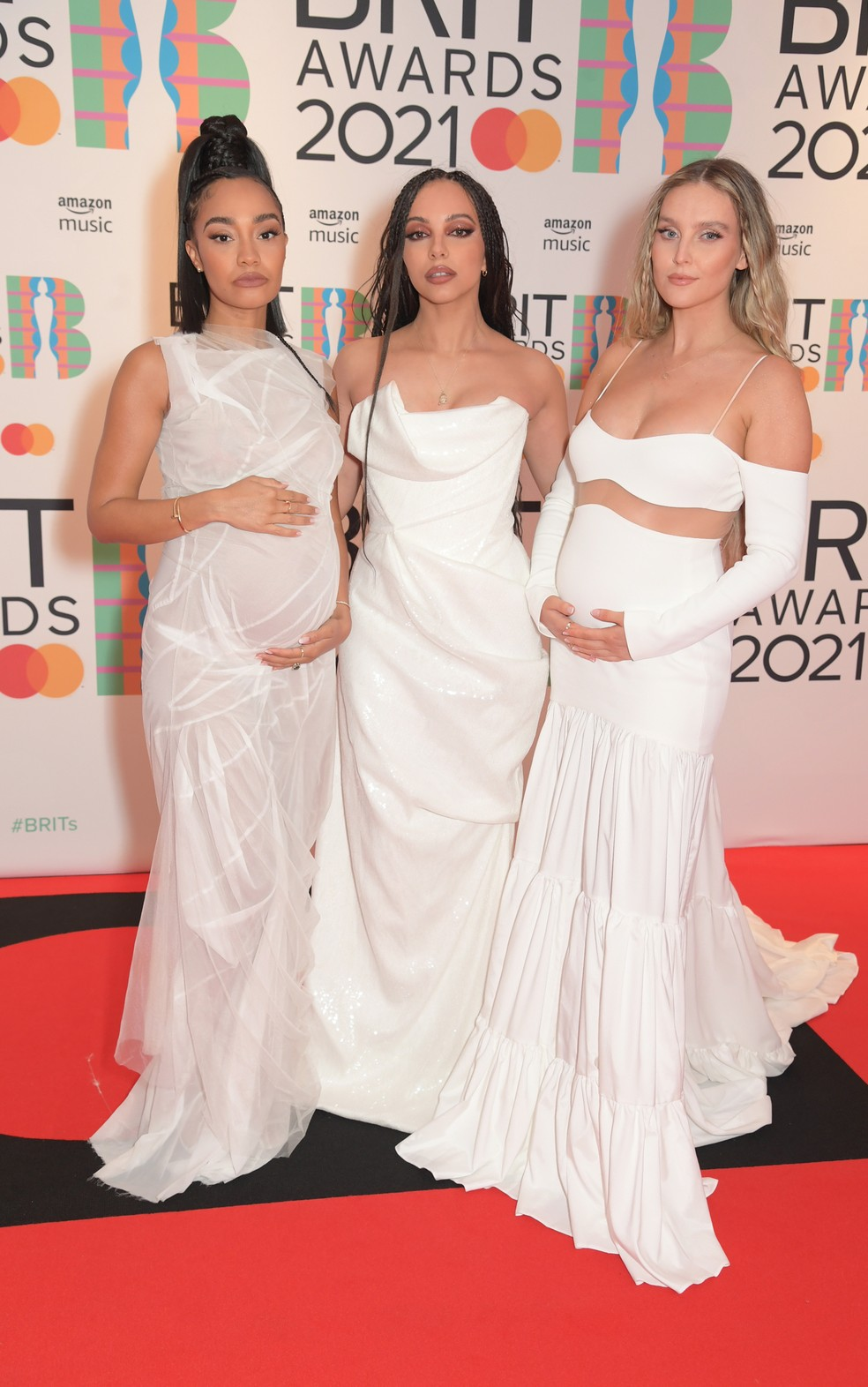 leigh anne pinnock jade thirlwall e perrie edwards do little mix no brit awards 2021 1