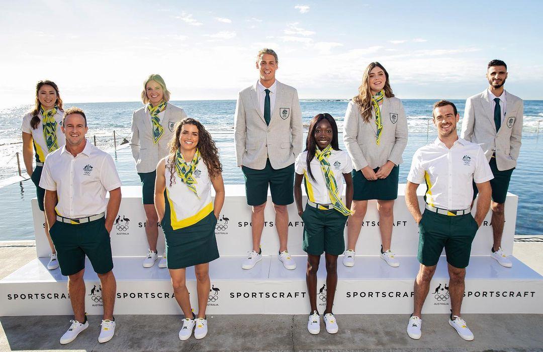 Austrália uniformes